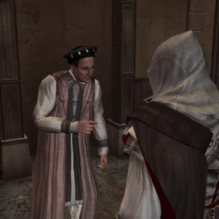 Le contact chargea Ezio d'apporter les lettres à leurs destinataires
