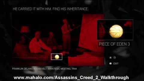 Assassin's Creed 2 Walkthrough - Glyph Puzzle 3 HD