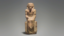 DTAE Seated Statue of King Menkaure