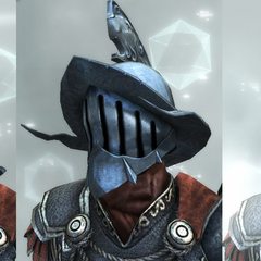 The Gladiator's helmets