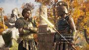 Mercenary dialogue - Assassin's Creed Odyssey