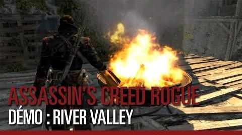 Assassin's Creed Rogue - Démo de gameplay - Exploration de la River Valley
