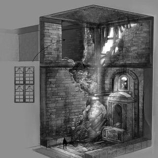 Palazzo Laterano - Room of the Saints concept art