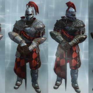 T骑士的装备