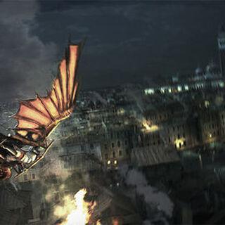艾吉奧在威尼斯用飛行器的概念圖
