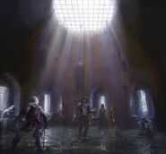 ACUnity interni prigione concept art