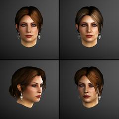 Caterina's gezichtsmodellen van <a class=