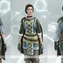 Les différentes tenues de la Brigande