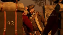 Silas Thather z żołnierzami (by Kubar906)