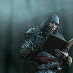 Ezio leest het dagboek