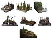 AC3L Bayou Studies - Concept Art