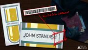 John standish easter egg