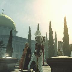 阿泰尔凝视着圣殿山