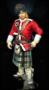 The 'Black Watch' Highlander
