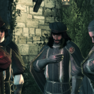 Jacopo takes the Templar pledge.