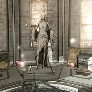 圣母百花大教堂内的伊尔塔尼雕像。