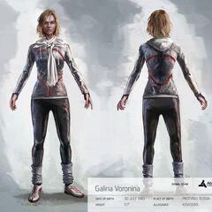 Concept-art de <b>Galina</b>