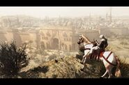 Damascus Gates - Altair on Horse