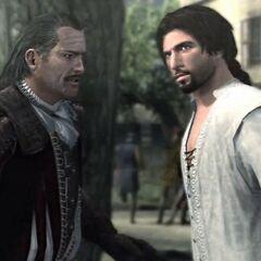 Ezio, 41, mit Mario