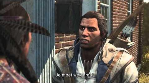 Assassin's Creed III - verhaaltrailer Connor