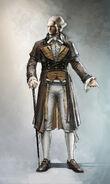 Maximilien de Robespierre concept art