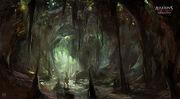 AC3L Worm Cave - Concept Art