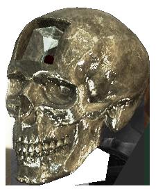 AC4 Crystal Skull render