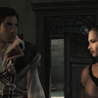 Ezio en Annetta in <a href=