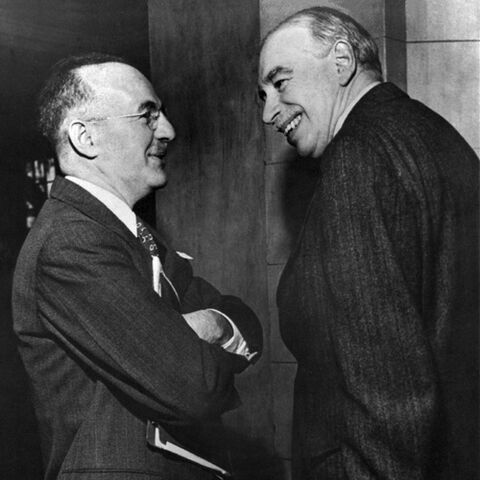 Harry Dexter White et <b>John Maynard Keynes</b>