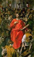 Le Partage de la tunique du Christ par El Greco