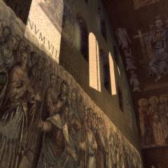教堂内壁画