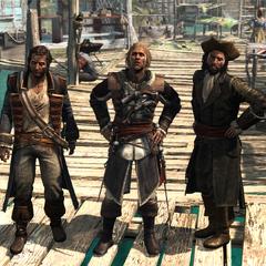 霍尼戈尔德、肯威和萨奇在盐键滩