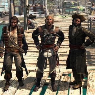 爱德华、霍尼戈尔德和萨奇在盐键滩