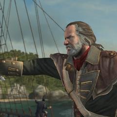 福克纳指挥船员