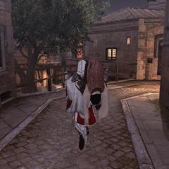Ezio portant Santino jusqu'au Panthéon