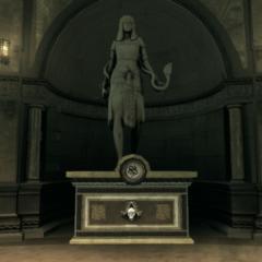 阿蒙内特的雕像