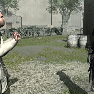 Le Paysan donnant ses instructions à un garde
