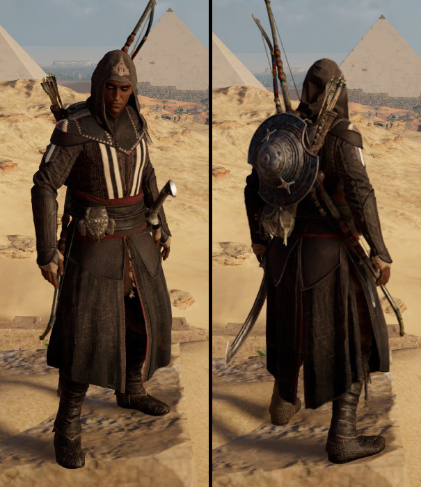 assassins creed origins isu armor benefits