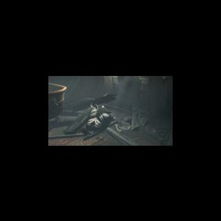 <b>L'armure d'Altaïr</b> détruite lors de l'attaque de la <a href=