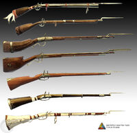 Assassin's Creed 3 Multiplayer Weapons - 03 by trebor7