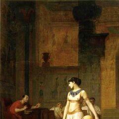 <i>Cleopatra and Caesar</i>, by <a href=