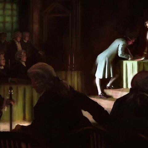 《独立宣言》签字现场