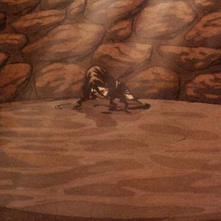 莱拉无意识地躺在井底