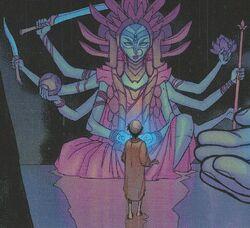 ACBM-Durga statue