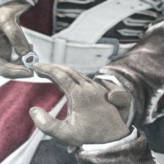 海瑟姆·肯维取走爱德华·布雷多克的圣殿骑士戒指