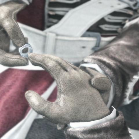 海尔森摘下了布雷多克手上的圣殿骑士戒指