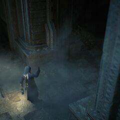 Arno aux portes du temple