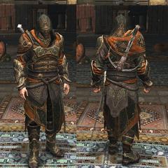 伊萨克·帕夏的铠甲