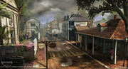 Assassin's Creed III Liberation Concept Art by EddieBennun