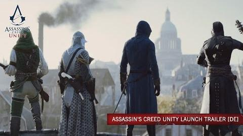 Assassin's Creed Unity Launch Trailer DE